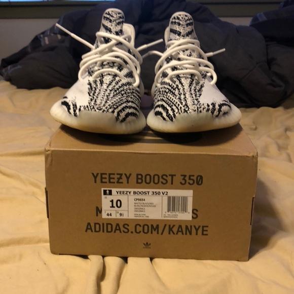 Yeezy Shoes | Worn Yeezy Zebra 35 V2